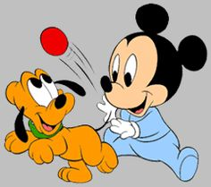 Disney Pluto The Dog Cartoon Clip Art Images On A Transparent Background Baby Mickey Mouse, Mickey Mickey, Mickey Mouse Y Amigos, Mickey Mouse Cartoon, Mickey Mouse And Friends, Baby Cartoon, Cartoon Clip, Cartoon Images, Pluto Disney