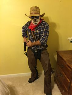 Day of the dead Cowboy