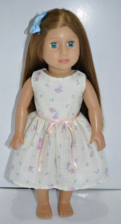 American Girl Doll Our Generation Journey Girl 18  Doll Clothes Floral Dress