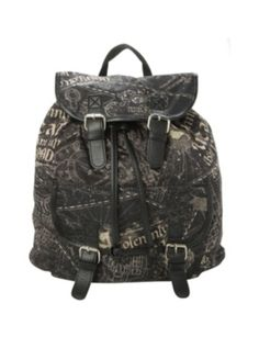 Harry Potter Solemnly Swear Slouch Backpack ($25.15-34.50) - Hot Topic