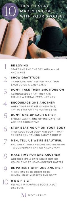 When we get into a relationship, we tend to think that we know everything, and we don't need any help, just to suddenly realize that things are falling apart and the passion has started to cool down. Relationship is just like a plant, it needs a healthy environment to grow and last. We brought you some simple tips that could help you have a healthy relationship and be happy with your spouse.