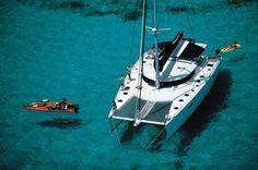 Award Winning Pontoon Boats by Harris. Harris Boats has been building pontoon boats for over 60 years. Luxury pontoon boats made for entertaining. Catamaran Design, Catamaran Charter, Sailing Catamaran, Charter Boat, Yacht Boat, Boat Dock, Luxury Pontoon Boats, Luxury Sailing Yachts, Bali Lombok