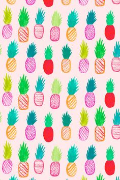 Neon Pineapples by Abby Galloway