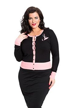 Voodoo Vixen – Meow For Now Plus Size Kittycat Cardigan - See more at: http://45.gs/qi3e