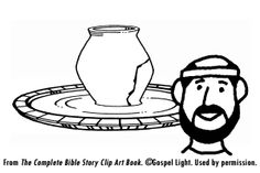 Jeremiah, The Potter and the Clay, Bible Crafts and