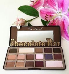 #toofaced - ig:tursunayelham The perfect palette  #toofaced #chocolatebarpalette - #beauty #makeup #cosmetics #palette #palettes