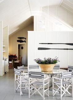 Em clima de férias. Veja: http://www.casadevalentina.com.br/blog/detalhes/em-clima-de-ferias-3094 #decor #decoracao #interior #design #casa #home #house #idea #ideia #detalhes #details #style #estilo #casadevalentina #diningroom #saladejantar