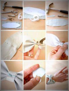 DIY Bow Bracelet