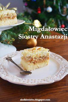 Słodkie niebo: Migdałowiec (bez pieczenia) wg. Siostry Anastazji