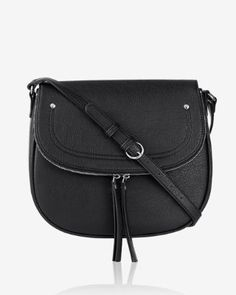 large zip flap saddle bag from EXPRESS