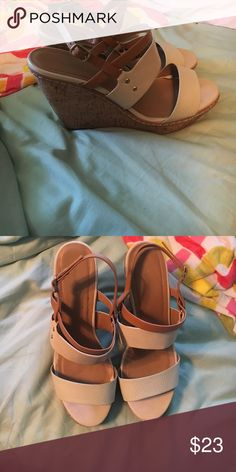 Maurice's wedges Maurice's Wedges size 11! Maurices Shoes Wedges