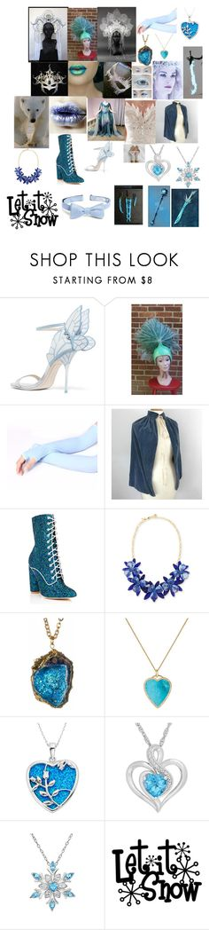 """""""Ice Priestess by Carola Guldner"""" by carola-guldner ❤ liked on Polyvore featuring interior, interiors, interior design, home, home decor, interior decorating, Lime Crime, Morgan, Sophia Webster and Cape Robbin"""