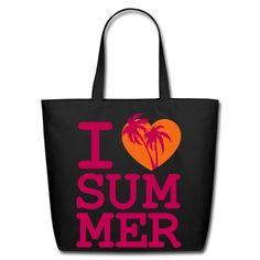 I love Summer Tote Bag | fancyboutique