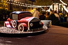 A whimisical cake is a delicious way to tell a story!