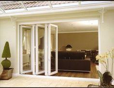 inwards opening bi-fold doors