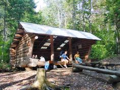 AT-Shelter-Rangeley-Lakes     Appalachian Trail Shelters