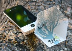 eco-amp iPhone speaker amplifier made from recycled materials