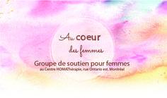 Groupe soutien au coeur des femmes Julie Ouimet