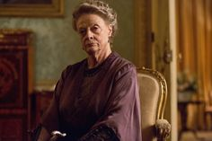 The Wit And Wisdom Of Downton Abbeys Dowager Countess  'I wonder your halo doesn't grow heavy, it must be like wearing a tiara round the clock.'