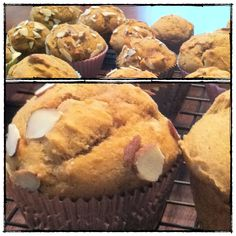 Whole wheat pumpkin muffins (with coconut oil)