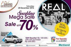 Sparkling Mega Sale Sampai 70 Persen, Periode 20 Desember 2014