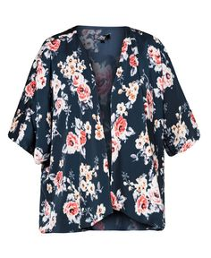 Kimono Jacket by Ezra by Zalora. Kimono jacket with floral print all over made from polyester, black color, 3/4 sleeve.Pair it with tee and short or just wear it when you go to the beach.  This piece is perfect for your summer.     http://zocko.it/LCt0n
