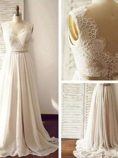 e3e8427376a Strapless Sweetheart Lace Beaded A line Wedding Dresses