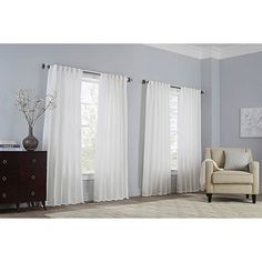 Add a chic layer of protection to your windows with the Basel Pinch Pleat Window Curtain Panel. Boasting a sophisticated striped pattern, this light filtering panel boasts a pinch pleat design, and features cotton sateen lining for added privacy. Taupe Bedroom, Bedroom Decor, Bedroom Windows, Window Curtains, Layered Curtains, Interior Decorating, Interior Design, Thermal Curtains, Panel Bed