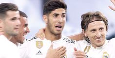 Animated gif about gif in [ Marco Asensio ] by 윤히 Real Madrid Players, Real Madrid Football, Santiago Bernabeu, Soccer, Guys, It, People, Armors, Friends Forever