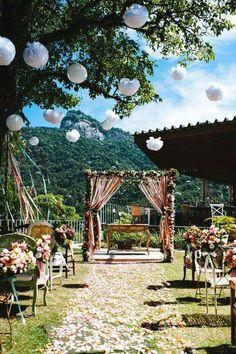 Cerimônia casamento (altar)