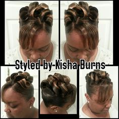 SCULPTED UP DO with no frenchroll