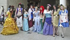 These Creative Disney Cosplayers Are Downright Magical - Disney of the Dead | Memes