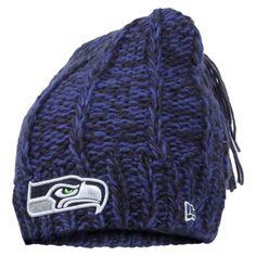 huge selection of 7fa5e 6f412 Seattle Seahawks New Era Women s Winter Slouch 2 Knit Hat – College Navy  Nfl Seattle,