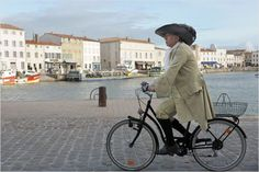 "Fabrice Luchini dans ""Alceste à bicyclette"""