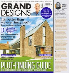 Grand Designs Magazine June 2019 - Details Matter: Exterior Cladding Tips