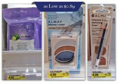 Almay Makeup Remover Towelettes, Only $0.89 at Target!
