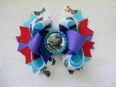 Hello Kitty Teenage Ninja Mutant Turtles Bow on Etsy, $6.00