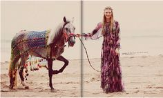 nice fashion shoot with horse :)