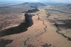 África.Fallas Geológicas y Sísmicas