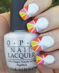 This design is thanks to Colette from @mysimplelittlepleasures - this is a design from her latest #nailart #tutorial  I really like her #vlog because she always gives clear and easy to follow directions. AND she always does great designs. Go check her out if you haven't already done so.  #lookMSLP @opi_products @opinailsuk @opiaustralia #nailpolishobsession #simplynotlogical #ohmygoshpolish #nailpolish
