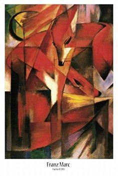 Franz Marc Foxes painting is available for sale; this Franz Marc Foxes art Painting is at a discount of off. Franz Marc, Wassily Kandinsky, Art Dégénéré, Art Fox, Degenerate Art, Fox Painting, Illustration Art, Illustrations, Oil Painting Reproductions