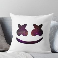 449b682e92a1f Marshmello Throw Pillow Minecraft Bedroom