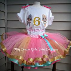 Jajaja sorpresa muñecas cumpleaños traje conjunto Kitty Reina