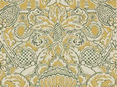 Wallpaper with floral pattern TOSCANE Pierre Frey Collection by Pierre Frey