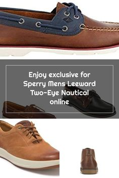 New Sperry Mens Leeward Two-Eye Nautical fashion mens shoes. [$54.99] premiumtopstyle offers on top store Sperrys Men, Nautical Fashion, Men's Shoes, Mens Fashion, Eyes, Store, Sneakers, Moda Masculina, Tennis