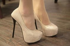 Womens Bling Stiletto High Heels Platform Classic Pumps 1,033.18