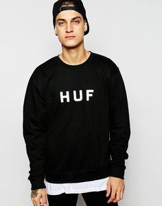 You'll have days when your brain just can't put an outfit together. I've been there loads! So just grab this black sweatshirt, throw on with black jeans and trainers, and you are good to go!