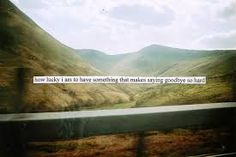 how lucky i am that makes saying goodbye so hard - A.A. Milne