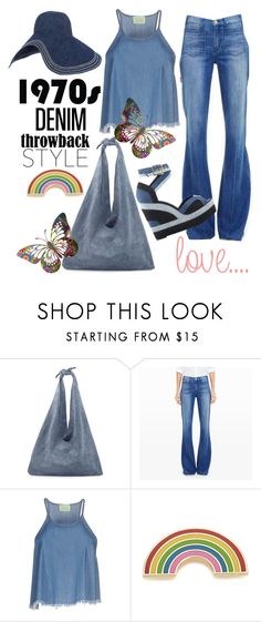 Denim on Denim by istyled on Polyvore featuring Aries, Club Monaco, The Row, Georgia Perry and Lola