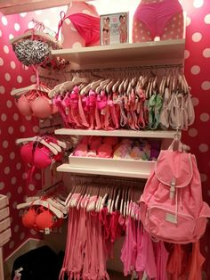 Vs pink....Lingerie section of my closet